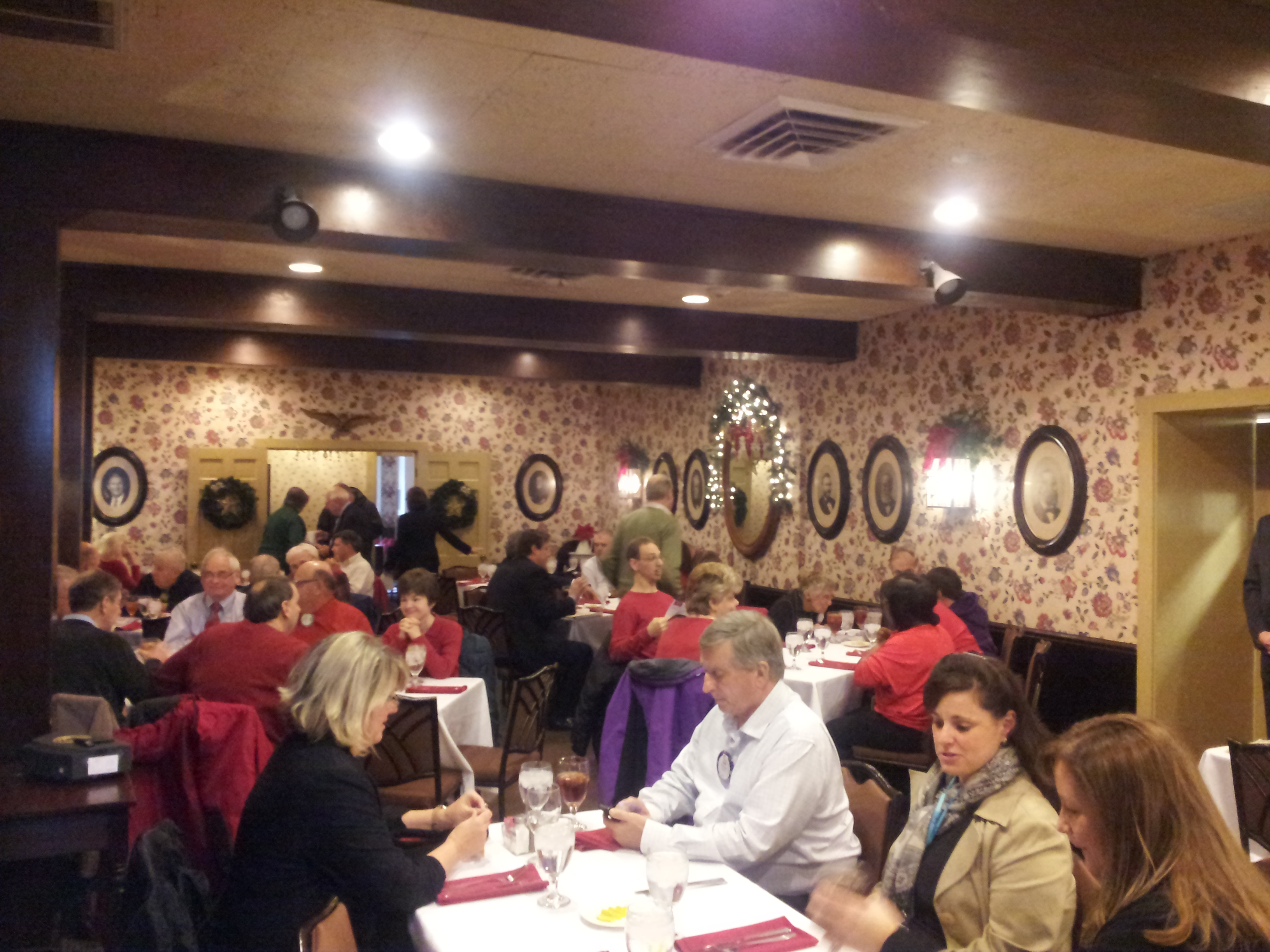 Rotary Meeting with Kiwanis in December 2014 #2