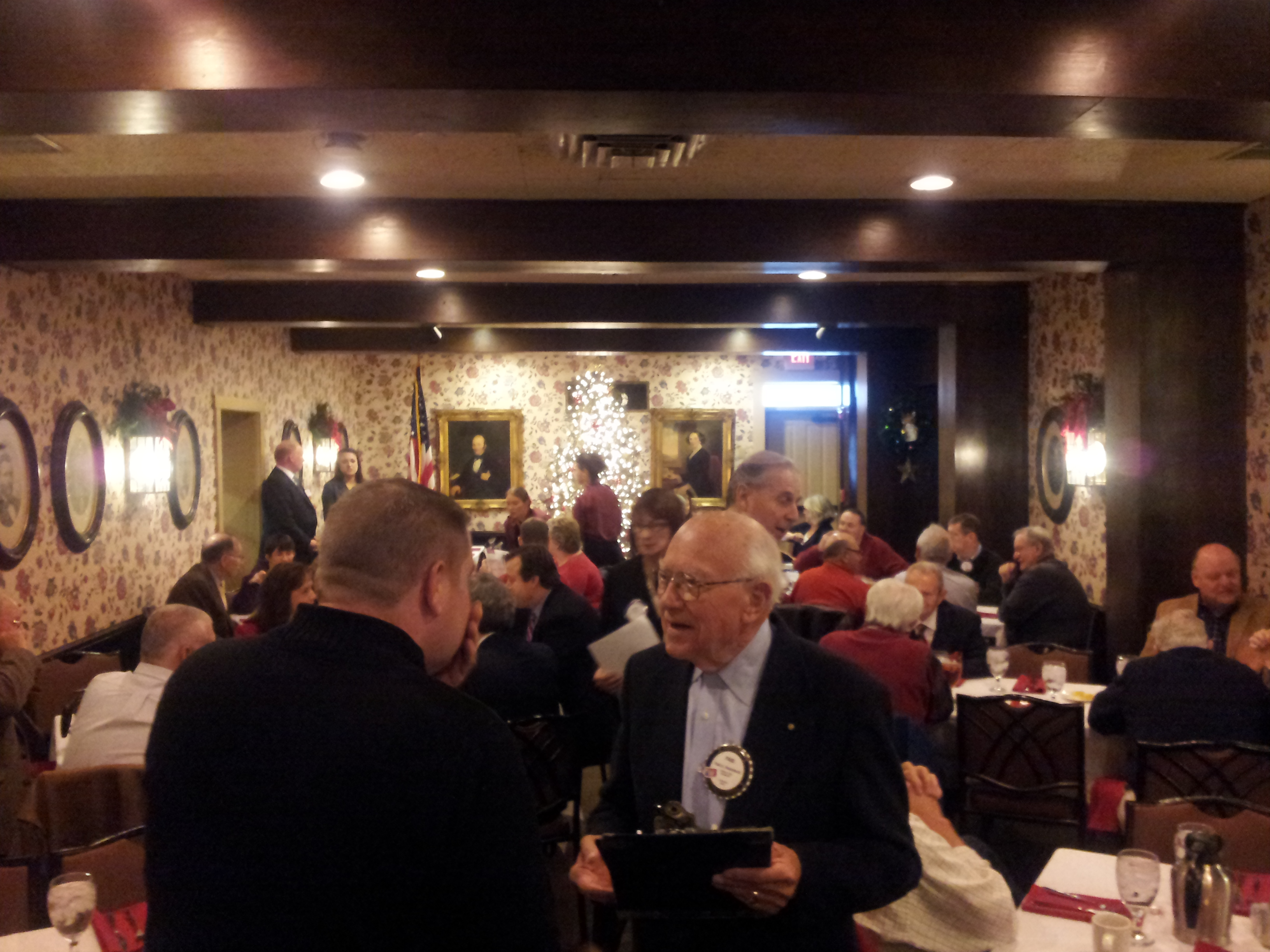 Rotary Meeting with Kiwanis in December 2014